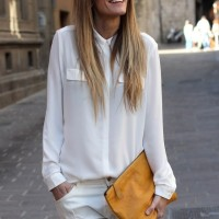 TOTAL LOOK BLANC! COMMENT?