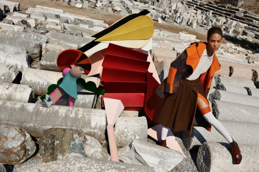 MISSONI WINTER 2014 CAMPAIGN