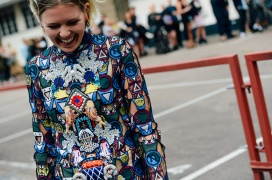 STREET STYLE LONDON FASHION WEEK SS15