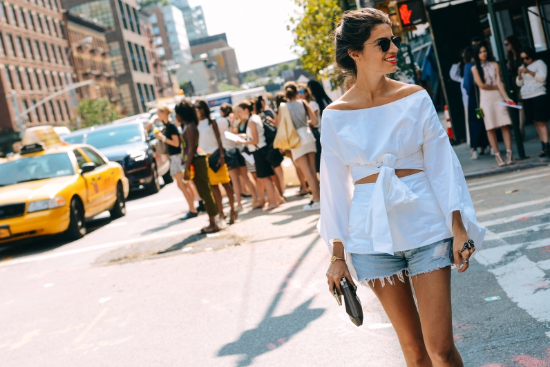 STREET STYLE FASHION WEEK NEW YORK SS15