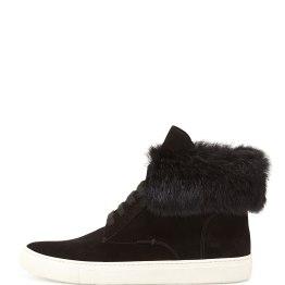 VINCE (Nyack) Rabbit fur--Cuff Sneaker