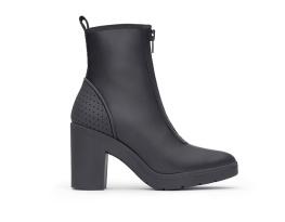 Alexander Wang pour H&M- Booties Fermeture Zip à Talons Carrés $199