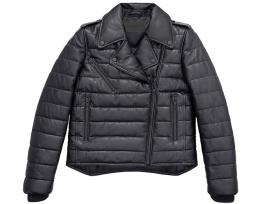 Alexander Wang pour H&M- Perfecto de Cuir Matelassé $399