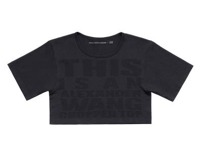 Alexander Wang pour H&M-Tee Écourté $39,95