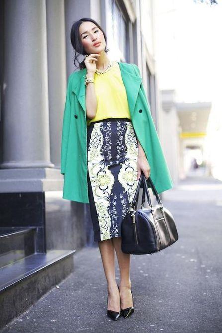 La jupe crayon